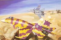 Static Kit 1/48 Aircraft Russian Su-37 Fighter Military Airplane MiniHobby 80309