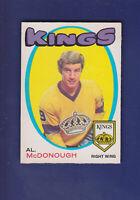 Al McDonough RC 1971-72 O-PEE-CHEE OPC Hockey #150 (EXMT) Los Angeles Kings