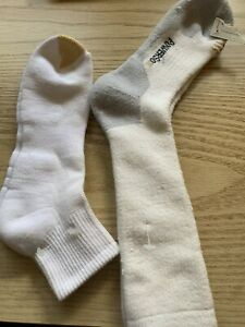 Gold Toe Men's Sport Cushion Socks Crew & Quarter - 2 Pairs - Fits 6-12 Shoe NEW