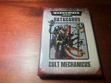 Warhammer 40k Cult Mechanicus DataCards Pack New