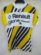 Maillot RENAULT GITANE CAMPAGNOLO vintage 1978 HINAULT shirt trikot maglia M