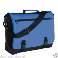 Mens Ladies Classic Messenger Shoulder Hand School College Student Laptop Bag