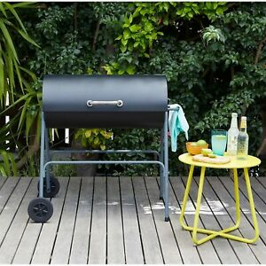 Charcoal BBQ - Texas - Oil Drum - Charcoal BBQ - Next Day Delivery ✅