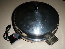 "Farberware 12"" Electric Skillet Fry Pan Buffet Server Model 335-A with Cord"
