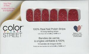CS Nail Color Strips Chile It Cool Valentines 100% Nail Polish- USA Made!