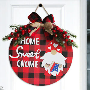 Black Festive Welcome Card 12.0 In The Farmhouse Wall Door Hanging Decoration UK