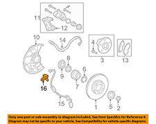 TOYOTA OEM ABS Anti-lock Brakes-Front Speed Sensor 8954304020