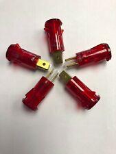 Solico 3135-4-00-57610, 14 Volt Red Incandescent Indicator Lights 5 pack