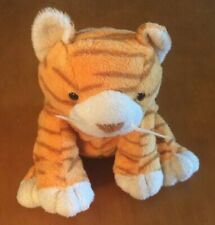 Ty Pluffies Orange Striped Cat Purrz From 2003 8""