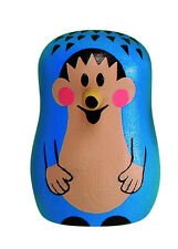 """Krtek - Little Mole - Maulwurf """"Hedgehog"""" wooden magnet official Czech item new"""