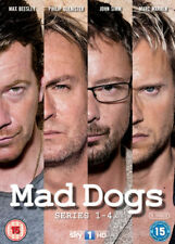 Mad Dogs Complete Collection Series 1 2 3 - 4 DVD All Episod Max Beesley NEW DVD