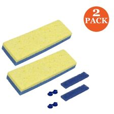 Quickie Automatic Sponge Mop Refill (2 Pack)