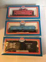 "Lot of 3 HO Scale Vintage Model Power 40"" Car 8000, 8030, 9125"