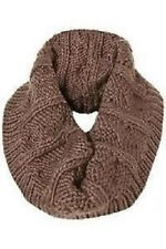 Topshop Ladies Girls Warm Cosy Scarf Snood Knitwear Free P&P