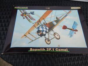 Eduard 8058 1/48 Sopwith Camel 2F.1 PROFIPACK Model Kit