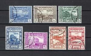 Yemen 1951 Sc# C3-9 set Airmail Plane NH CTO