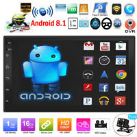 "7"" HD 2DIN Táctil Android 8.1 Coche Estéreo MP5 Reproductor GPS Navi Wifi BT Fm"