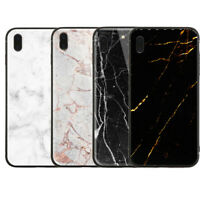 Black White Golden Dust Marble Luxury strong cover cases skins iPhone X  XS