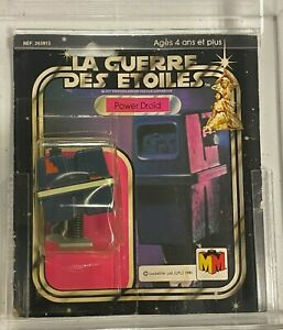 Vintage 1979 Kenner Star Wars Meccano Power Droid Cut Card UNOPENED