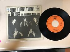 ROCK 45 RPM RECORD- THE BYRDS - CBS 1897