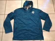 NWOT NIKE NFL On Field Storm Fit Miami Dolphins Lightweight Jacket Men's 3XL