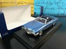 1/43 BOS Cadillac De Ville Convertible light blue blu blau bleu cabriolet cabrio