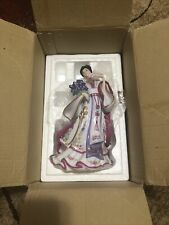 Danbury Mint The Iris Princess By Lena Liu Fine Porcelain Figurine Collectibles