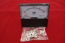 AC 20mA Analog Ammeter Panel AMP Current Meter 0-20mA 60*70MM directly Connect