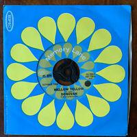"Donovan Mellow Yellow + Sunshine Superman 7"" Vinyl Single"