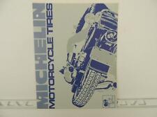 1974 Michelin Motorcycle Tire Catalog Brochure Honda Harley Yamaha L1216
