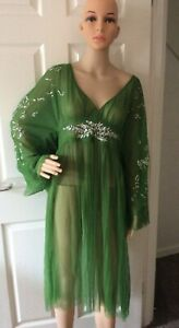 Free People Vintage Dreams Maxi Top / Dress - Green - XS or S or L