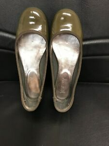 TOAST BALLET PUMPS MUSHROOM SIZE 6/39 LEATHER SOLE