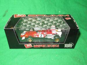 Brumm R313C Ferrari 312B Jacky Ickx 1970 Italian GP Ltd Ed VGC Boxed
