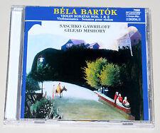 Bela Bartok Violinsonaten 1 & 2-mishory Gawriloff-CD COME NUOVO