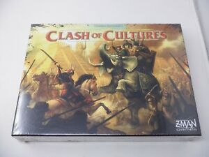 Clash of Cultures Z-Man Games  Board Game Sealed New  HC2664