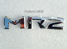 Toyota MR2 Roadster 1.8vvti - M R 2 - BADGE