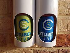 2 - TWO, STUBBY CUBBY, BRILLIANT STUBBY HOLDER DISPENSER, STUBBY COOLER TUBE