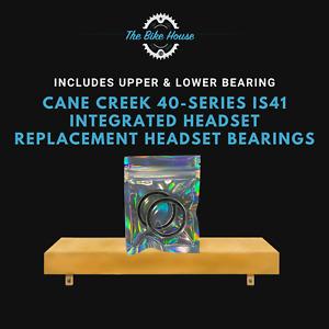 """Cane Creek 40-SERIES IS41 Integrado Recambio Auriculares Rodamientos 1 1: 8"""" Es"""