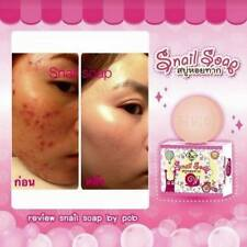 Snail Soap Retinol Arbutin Reduce Acne Whitening Brightening Face Skin by Pob