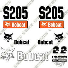 Bobcat S205 Decal Kit Skid Steer Decals Replacement Stickers