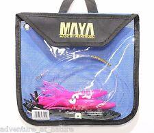 Maya Rigged - 5 Big Game Saltwater Trolling Tuna Fishing Lure Bait included Bag