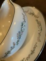 GORHAM Rondelle Gravy Boat And Underplate - Excellent Used Condition