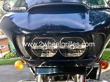 2017 Harley Davidson Road Glide Custom Chrome Fairing Grills Screens Vents