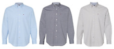 Tommy Hilfiger - Capote End-on-End Chambray Shirt - Long Sleeve - Pocket Logo