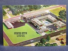 Postcard KS Dodge City Silver Spur Lodge