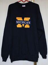 Vintage University of Michigan Sweatshirt Hoodie size L