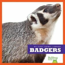 My First Animal Library: Badgers by Mari Schuh (2016, Hardcover)