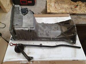 BMW E30 E34 M50 M52 M54 S50 S52 Front Oil Pan Sump with Dipstick & Pick up Tube