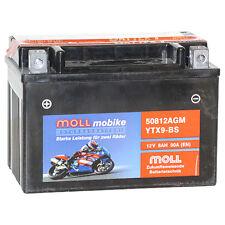 Moll mobike 50812 AGM YTX9-BS Bike Power 12V/8Ah 90A Motorradbatterie *NEU*