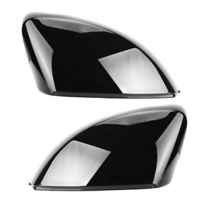 Audi A3 S3 RS3 8V Gloss Black Wing Mirror Caps Covers Caps OEM Fitment 2013-2020